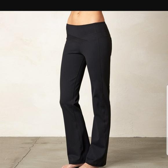 Prana Pants Jumpsuits Britta Black Yoga Pants Poshmark
